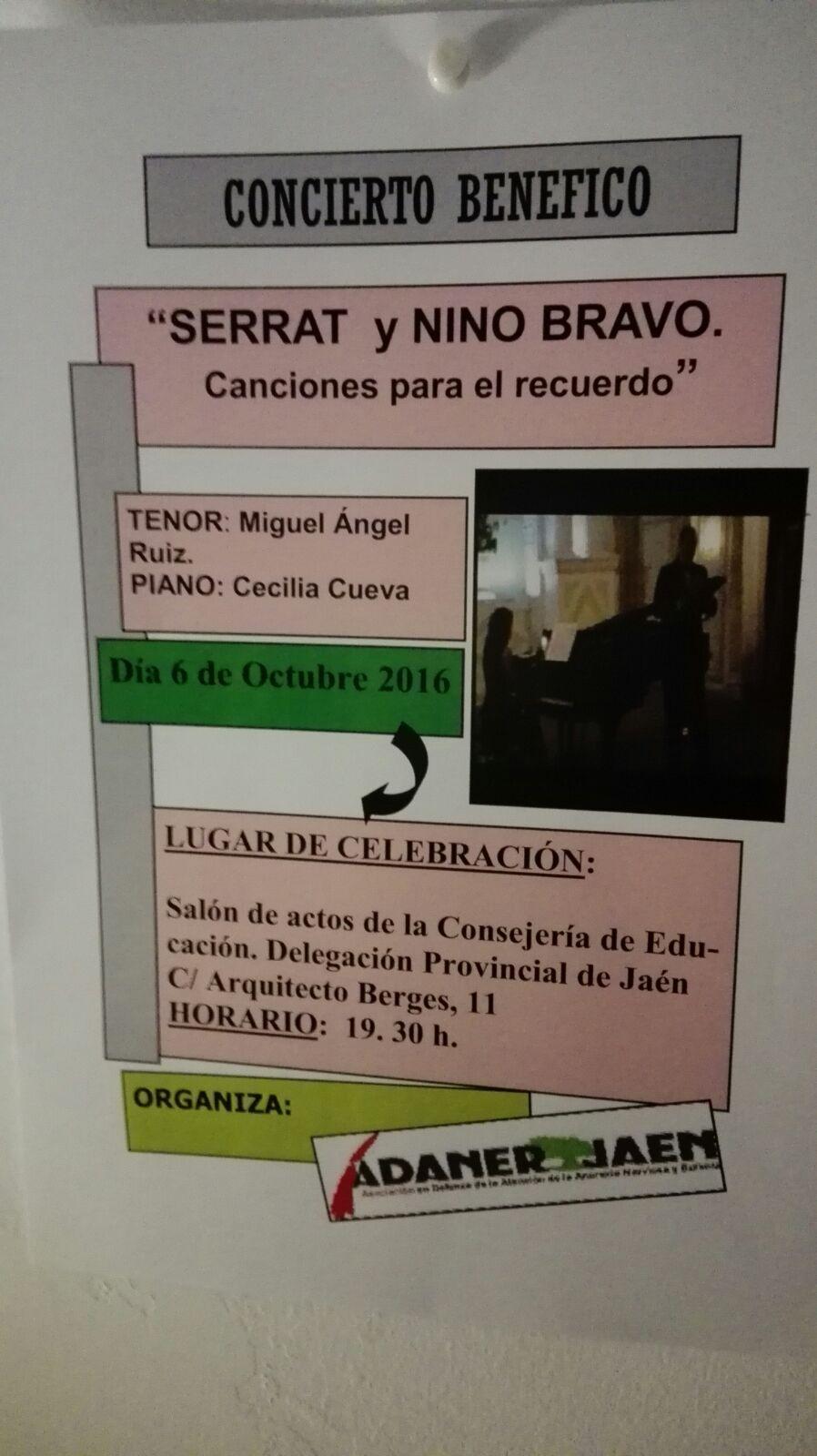 concierto benefico adaner Jaén